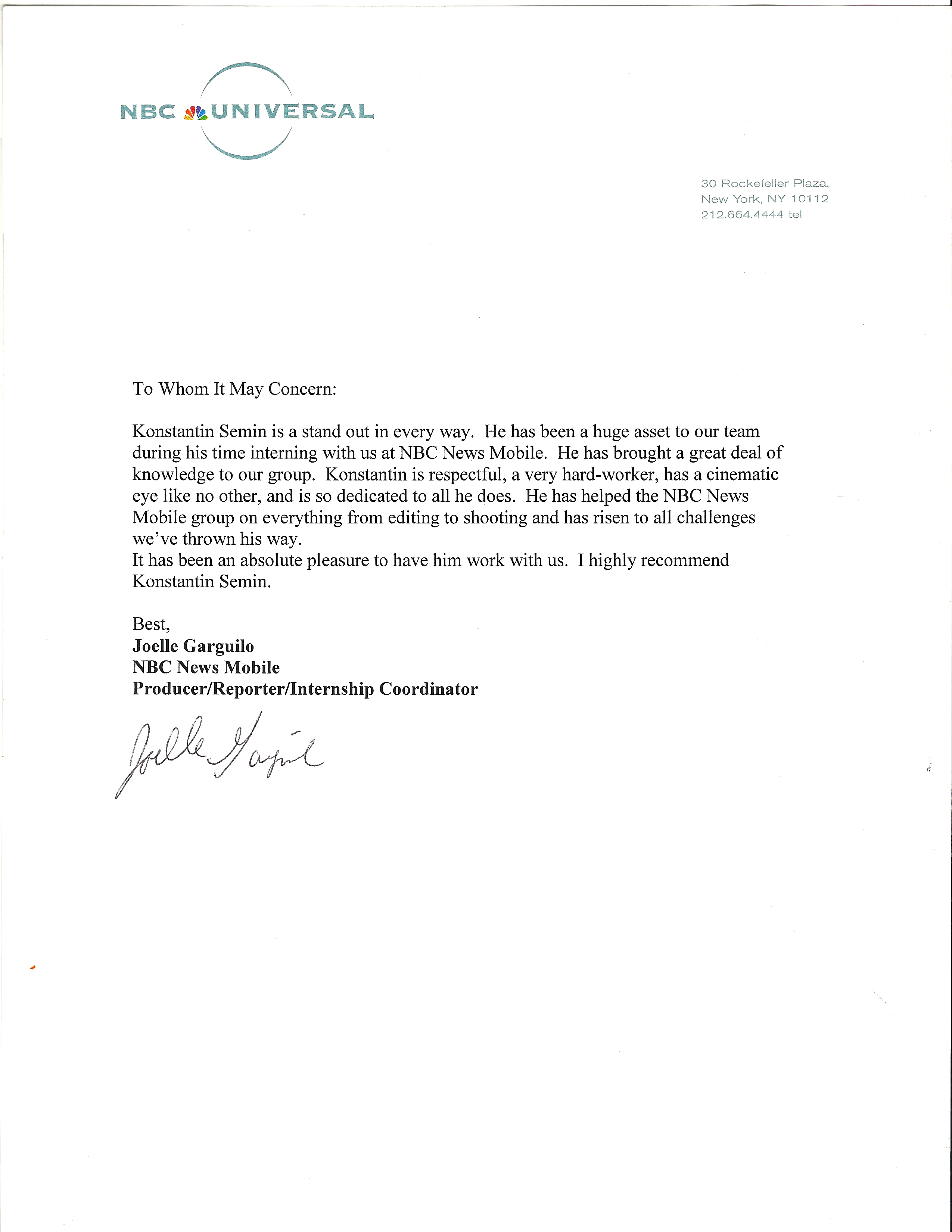 It Recommendation Letter | Letter Format 2017